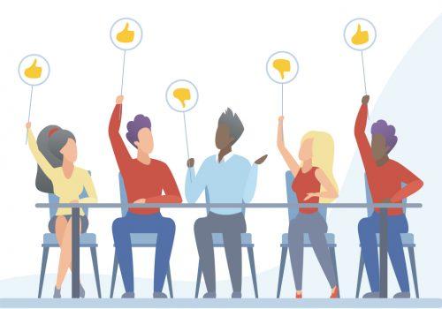 Keyvisual der Interkommunalen Bildungs- und Demokratiekonferenz 2021
